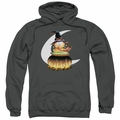 Garfield pull-over hoodie Stir The Pot adult charcoal
