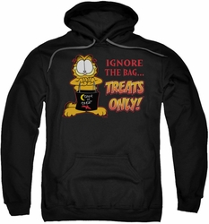 Garfield pull-over hoodie Treats Only adult black