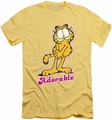 Garfield slim-fit t-shirt Adorable mens banana