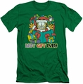 Garfield slim-fit t-shirt Best Gift Ever mens kelly green