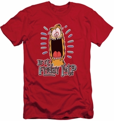 Garfield slim-fit t-shirt Friday mens red