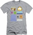 Garfield slim-fit t-shirt Gift Set mens athletic heather