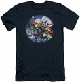Garfield slim-fit t-shirt Moonlight Ride mens navy