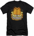 Garfield slim-fit t-shirt Nice Grill mens black