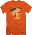 Garfield slim-fit t-shirt Odie mens orange