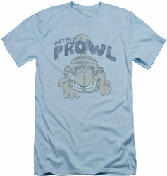 Garfield slim-fit t-shirt Prowl mens light blue