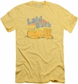 Garfield slim-fit t-shirt Rad Garfield mens banana