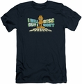 Garfield slim-fit t-shirt Rise Not Shine mens navy