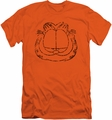 Garfield slim-fit t-shirt Smirking Distressed mens orange