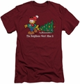 Garfield slim-fit t-shirt Won't Miss It mens cardinal