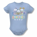 Garfield snapsuit Baby Gang light blue