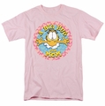 Garfield t-shirt A Big Hug For Mom mens pink