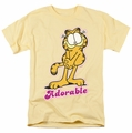 Garfield t-shirt Adorable mens banana