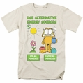 Garfield t-shirt Alternative Energy mens cream
