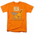 Garfield t-shirt Attention Span mens orange