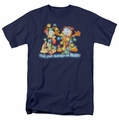 Garfield t-shirt Bright Holidays mens navy