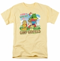 Garfield t-shirt Camp Garfield mens banana