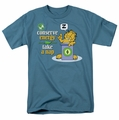 Garfield t-shirt Conserve Energy mens slate