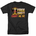 Garfield t-shirt Count Me In mens black