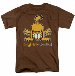 Garfield t-shirt Delightfully Unrefined mens coffee