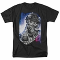 Garfield t-shirt Dj Lazy mens black