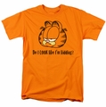 Garfield t-shirt Do I Look Like I'm Kidding mens orange