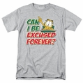 Garfield t-shirt Excused Forever mens heather