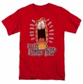 Garfield t-shirt Friday mens red