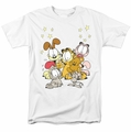 Garfield t-shirt Friends Are Best mens white