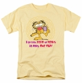 Garfield t-shirt From Zero To Perky mens banana
