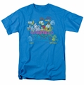Garfield t-shirt Garfield And Friends mens turquoise
