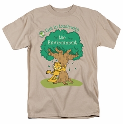 Garfield t-shirt Get In Touch mens sand