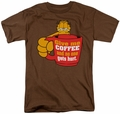 Garfield t-shirt Give Me Coffee mens coffee