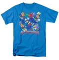 Garfield t-shirt Go Hawaiian mens turquoise