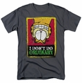 Garfield t-shirt I Don't Do Ordinary mens charcoal