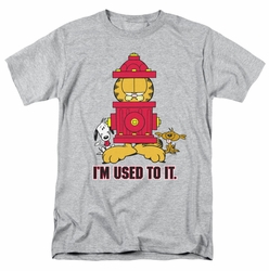 Garfield t-shirt I'm Used To It mens heather