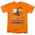 Garfield t-shirt I Vant Doughnuts mens orange