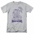 Garfield t-shirt King Of The Grill mens heather