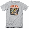 Garfield t-shirt Let The Fur Fly mens athletic heather