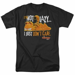 Garfield t-shirt Not Lazy mens black