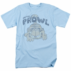 Garfield t-shirt Prowl mens light blue