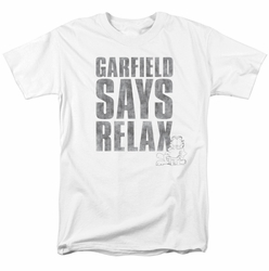 Garfield t-shirt Relax mens white