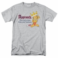 Garfield t-shirt State Your Business mens heather