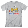 Garfield t-shirt This Is Living mens heather