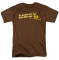 Garfield t-shirt To Know Me Is To Love Me mens coffee