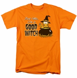 Garfield t-shirt Trust Me mens orange