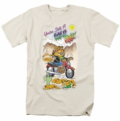 Garfield t-shirt Wild One mens cream