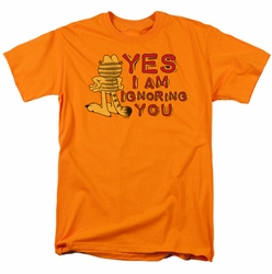 Garfield t-shirt Yes I Am mens orange
