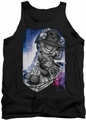 Garfield tank top Dj Lazy mens black