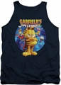 Garfield tank top Dvd Art mens navy
